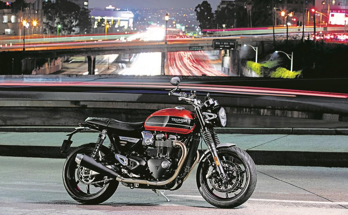 Amy Williams would like to sample the Triumph Speed Twin