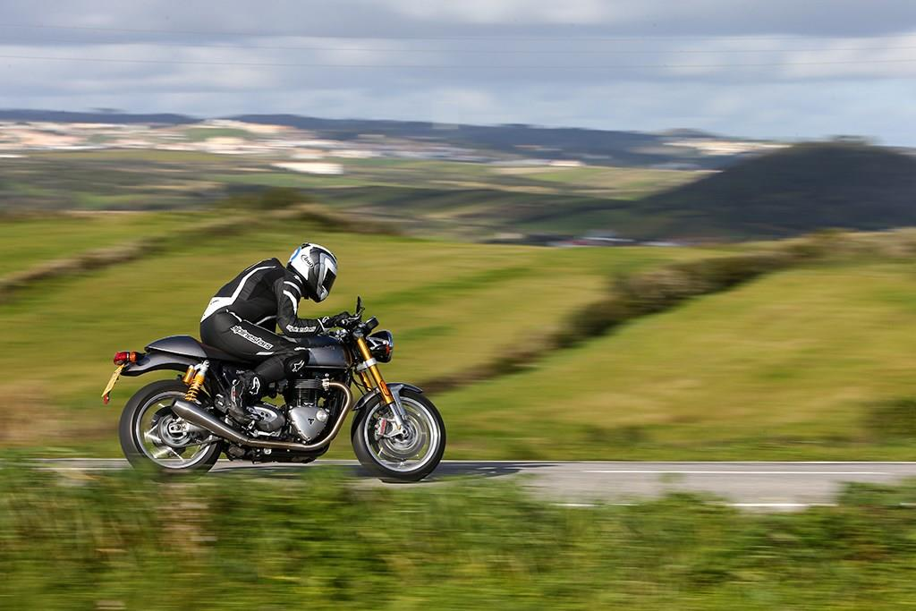 Gethin Jones is looking forward to riding the Triumph Thruxton R