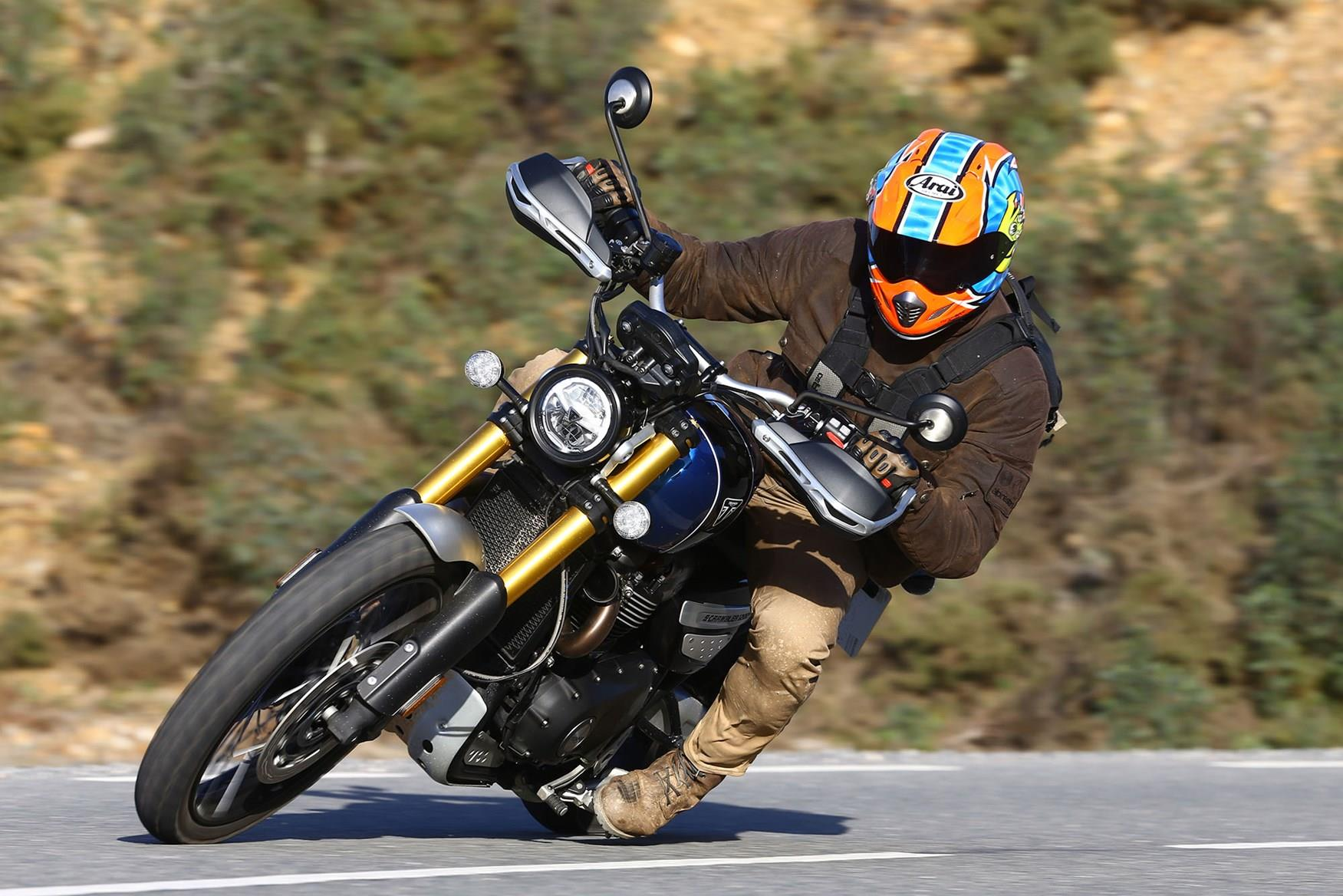 MCN's Michael Neeves rides the Scrambler 1200