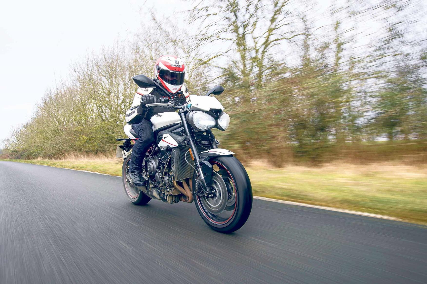 Amy Williams rates the Street Triple R