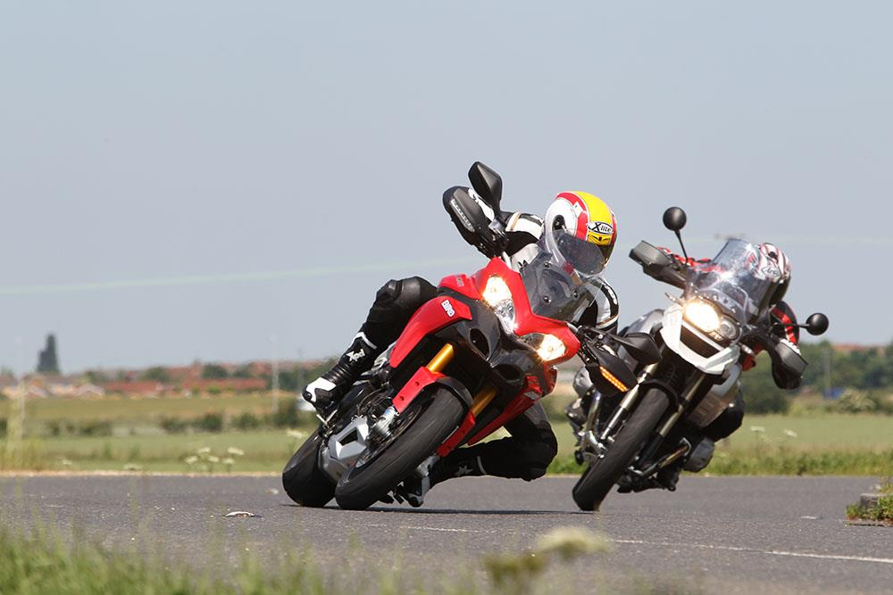 Ducati Multistrada competition