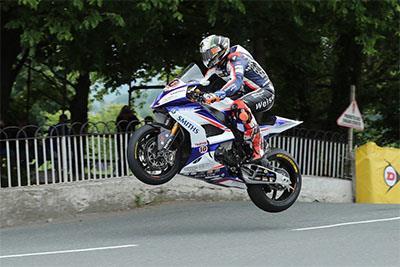 Peter Hickman at the Isle of Man
