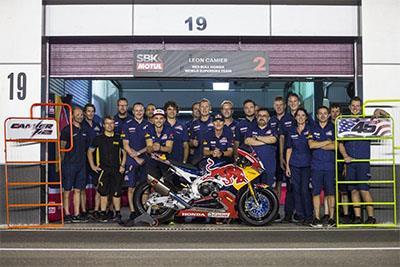 The Ten Kate Racing team