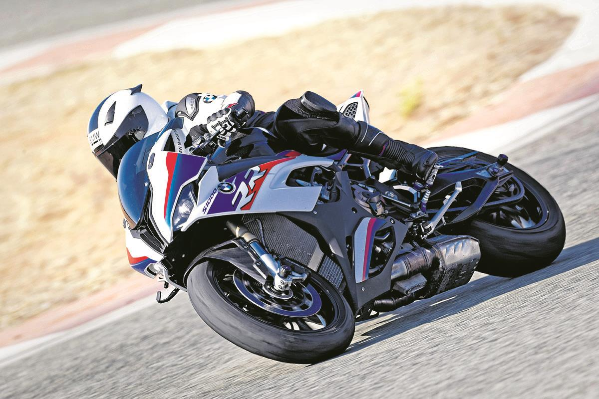 New S1000RR design was restricted