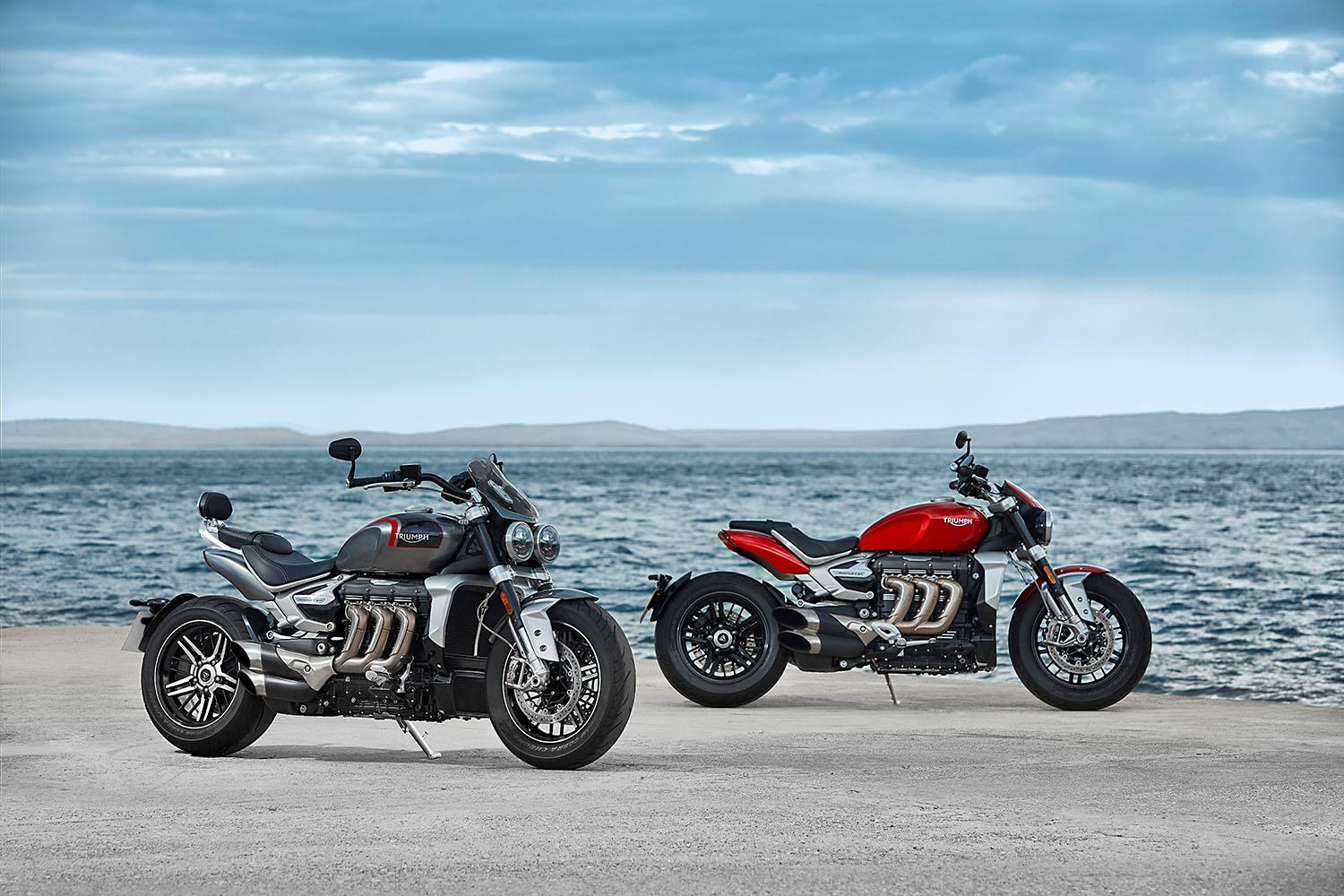 Triumph Rocket 3 officially unveiled