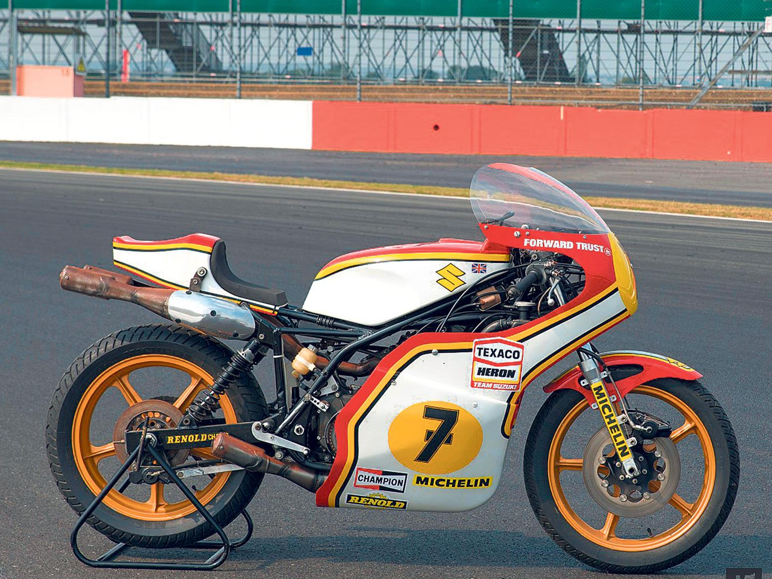 Barry Sheene bike