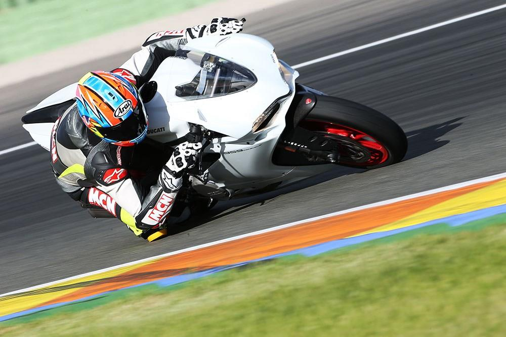 The 959 Panigale is a formidable track bike