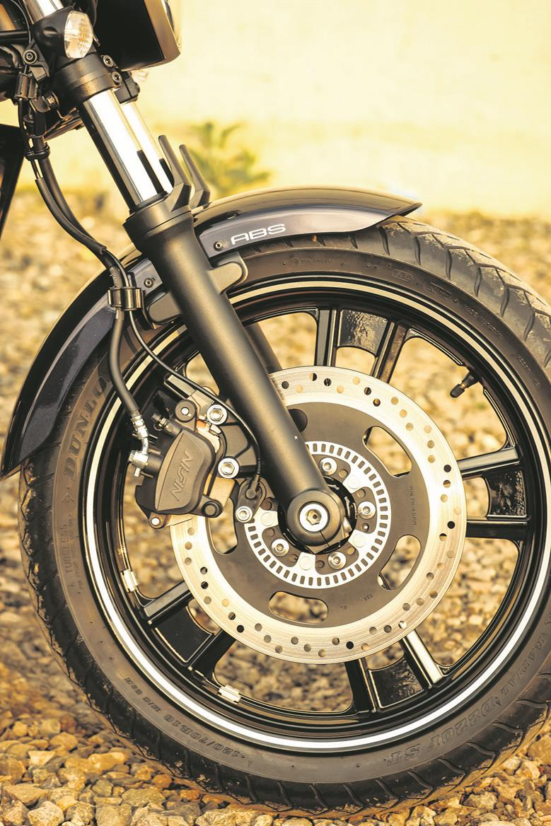 Vulcan S front brake disc
