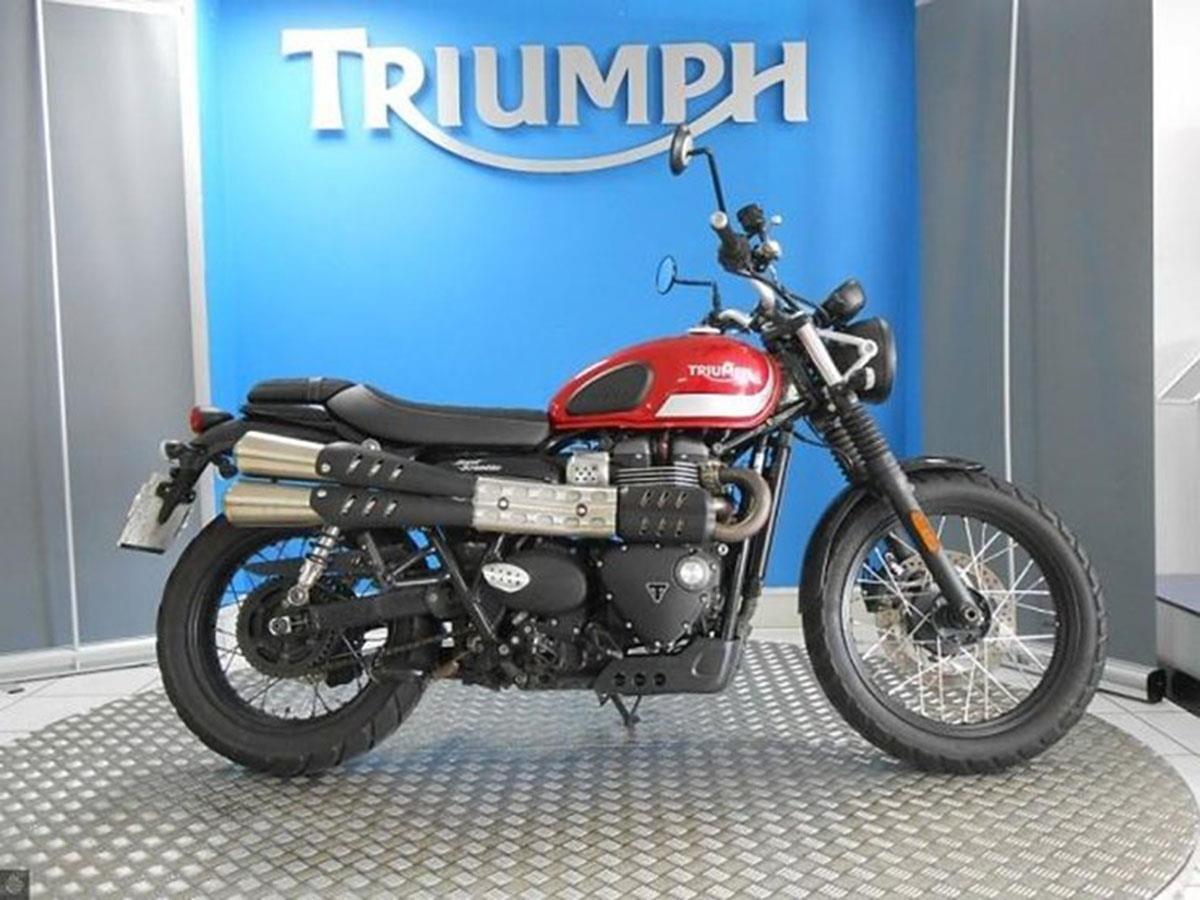 Triumph Street Scrambler for sale