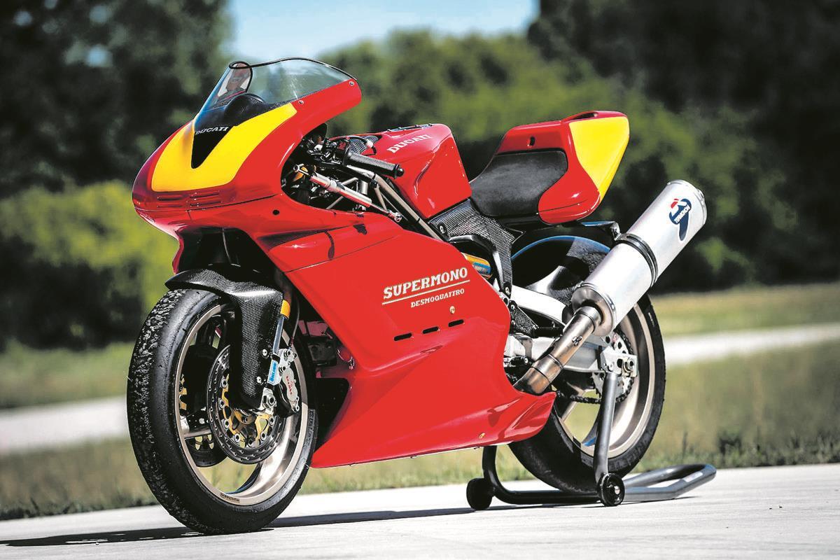A super-rare 1993 Ducati Supermono