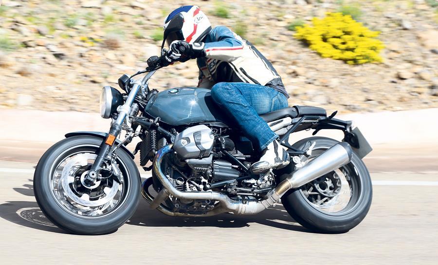 Езда на BMW R nineT Pure
