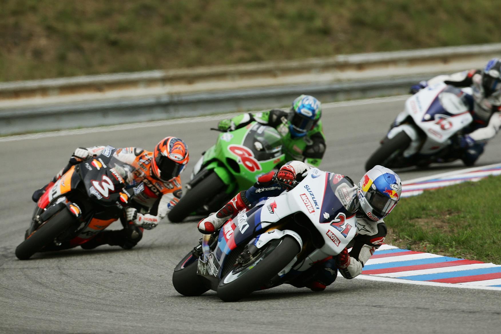 The 2005 Suzuki MotoGP bike