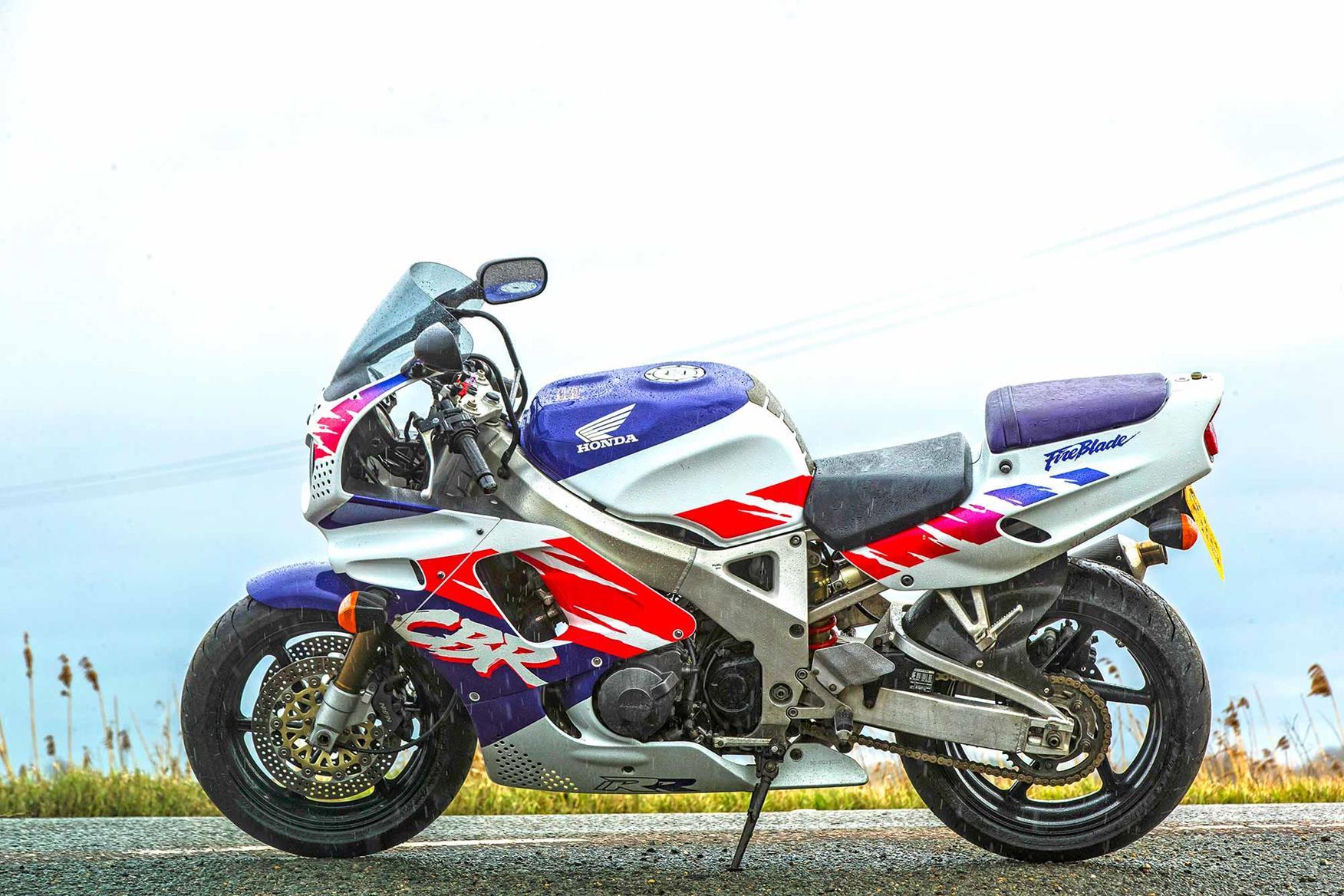 The Honda CBR900RR FireBlade