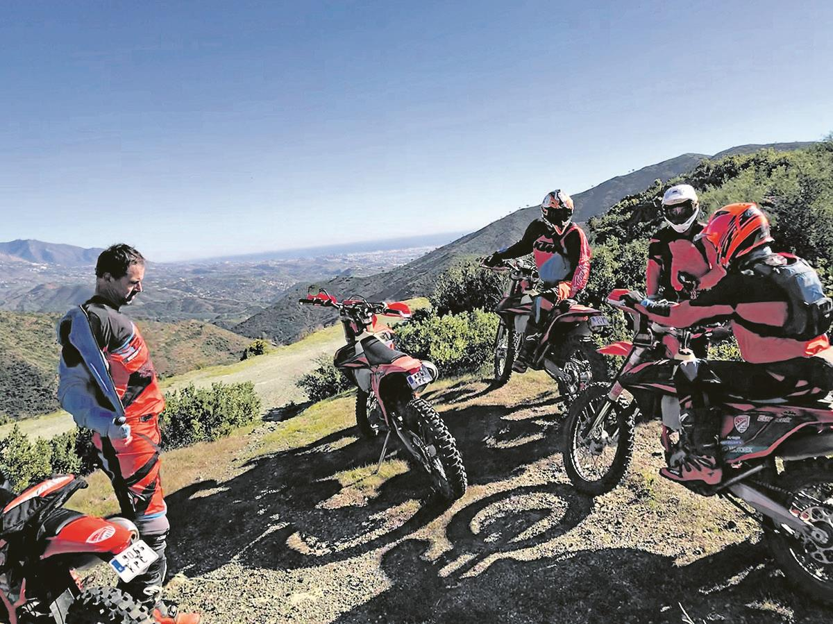 KTM's Offroad Orange riding experience near Malaga, Spain, is very relaxed