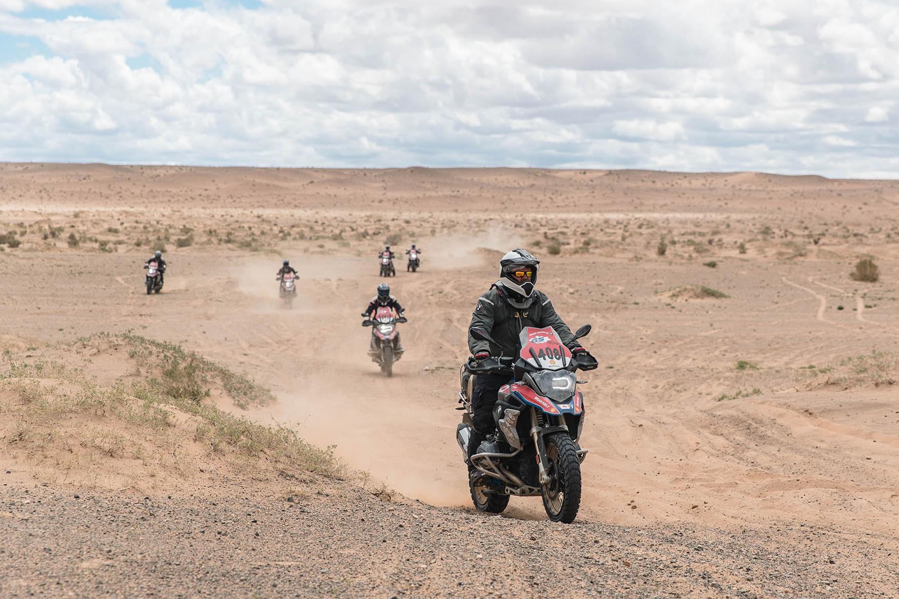 Action from the 2018 BMW GS Trophy in Mongolia