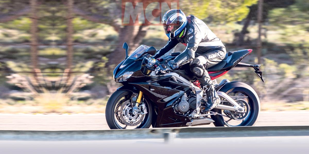 Triumph Daytona 765 revealed in MCN's first official pictures