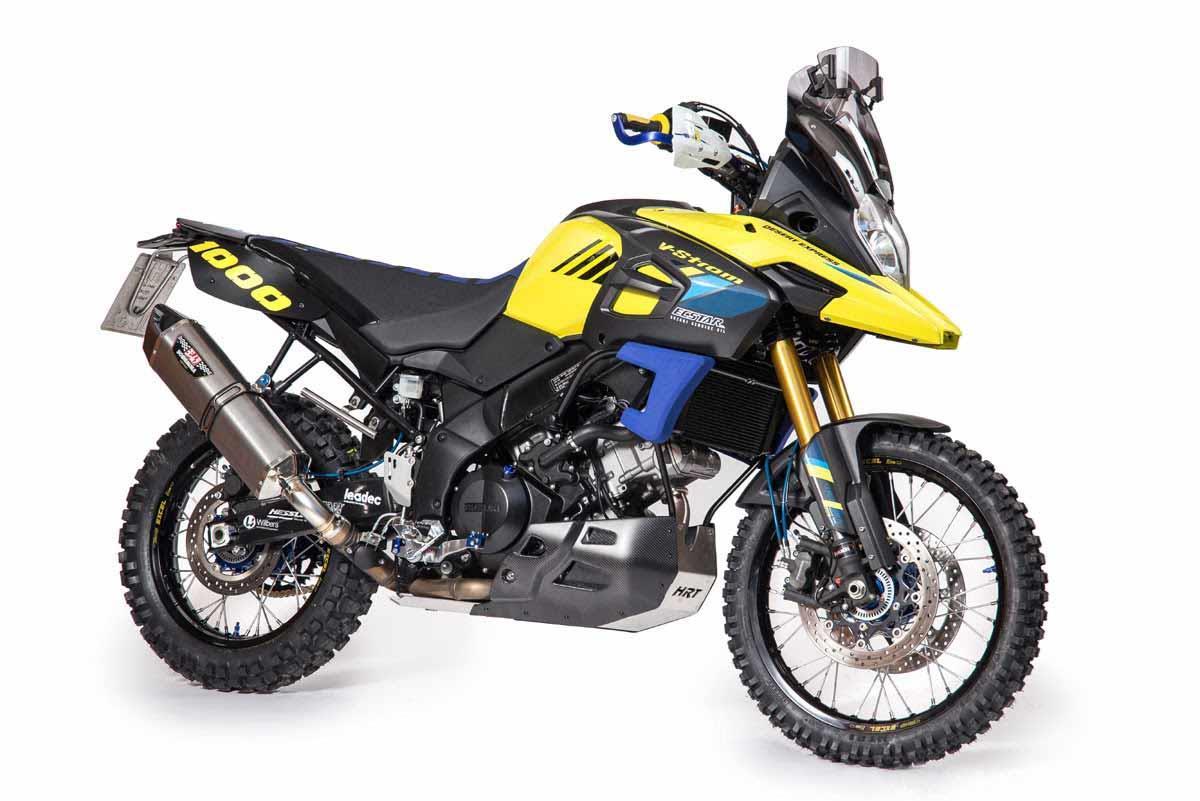 The Hessler bike can be built already. Credit: Hessler Rally Team