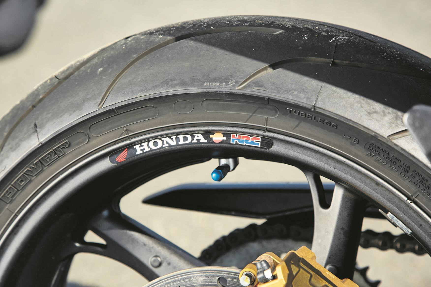 Michelin Pilot Power tyres are some way behind the latest rubber
