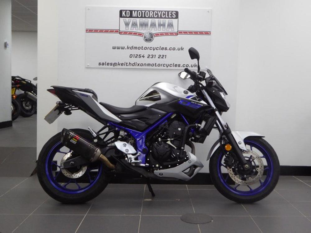 Yamaha MT-03 for sale