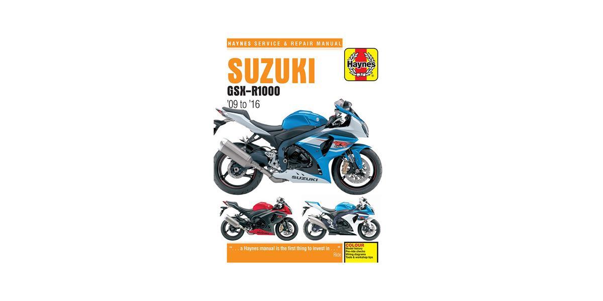A Haynes Manual for the Suzuki GSX-R1000