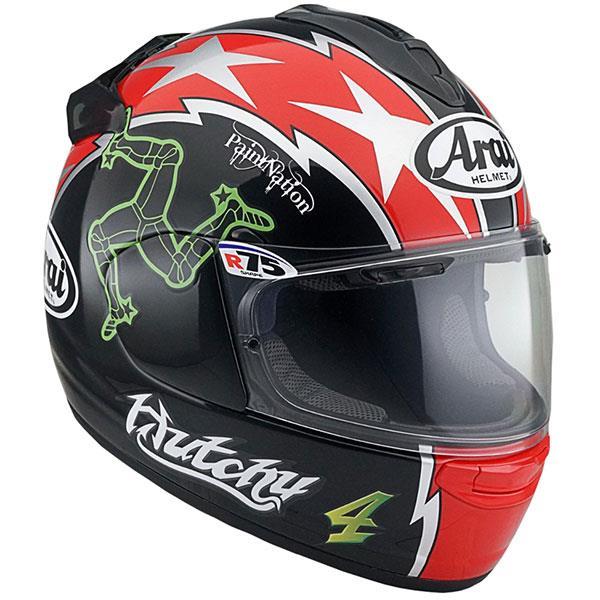 Arai Chaser X Hutchy replica helmet