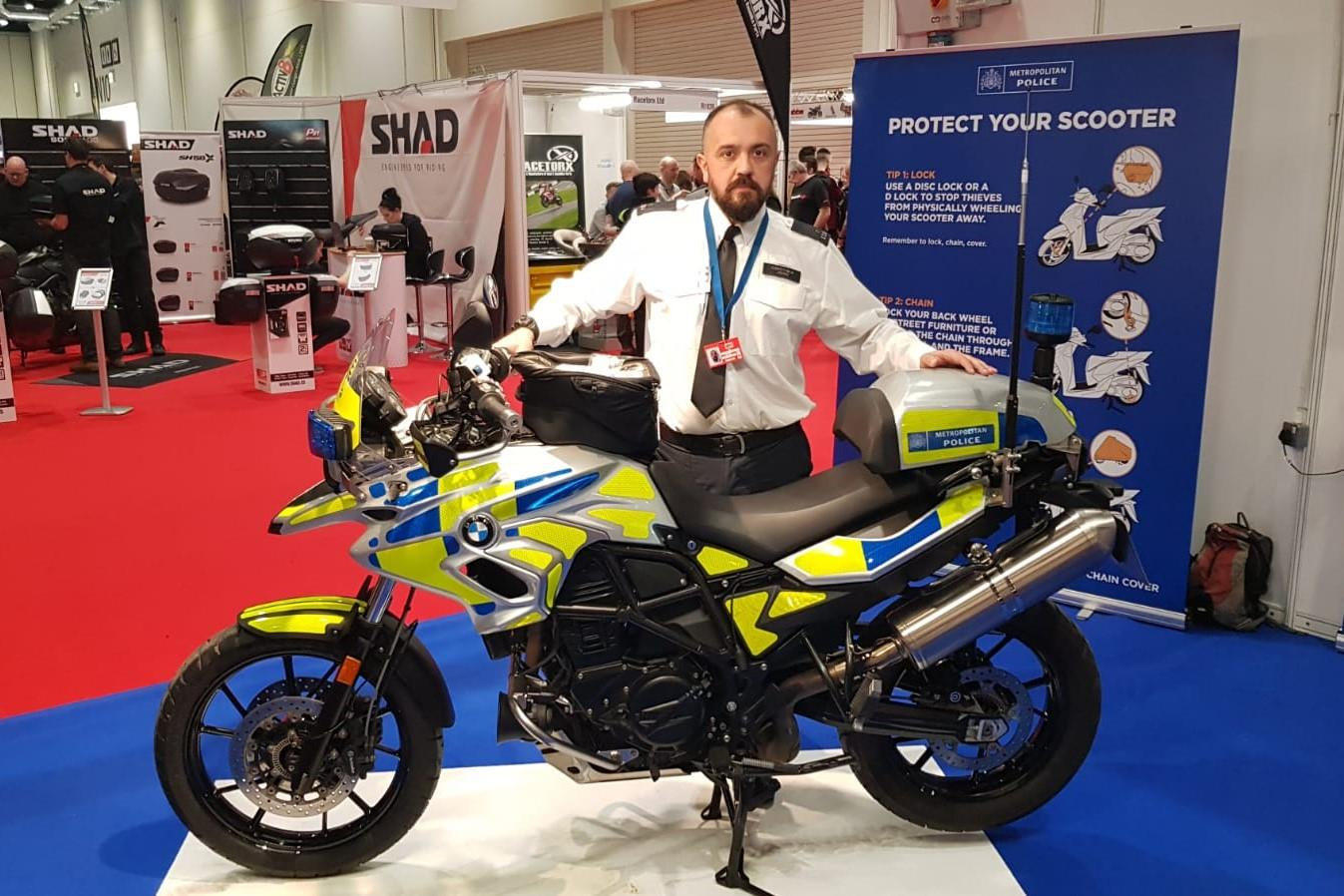 Met Police on motorcycle theft