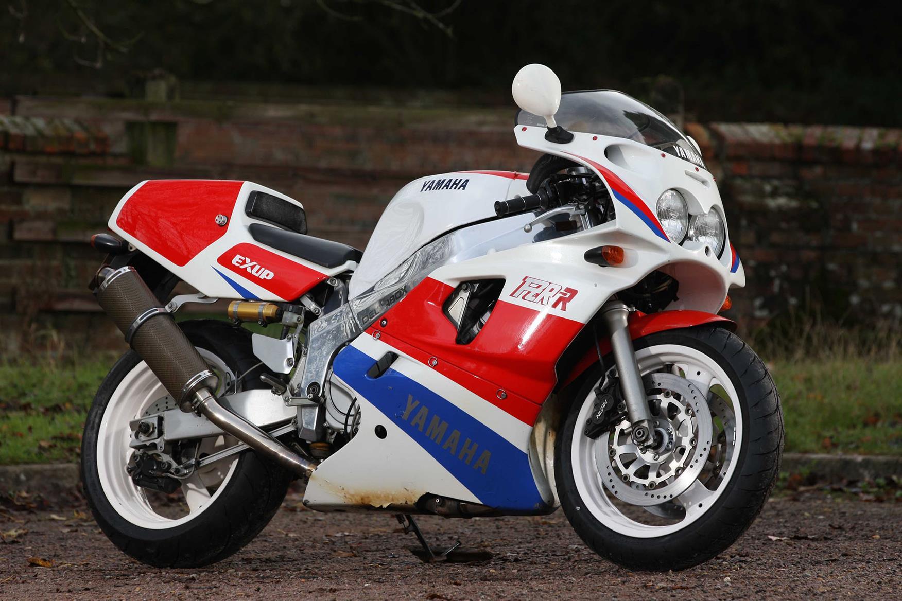 Yamaha OW-01 racebike conversion