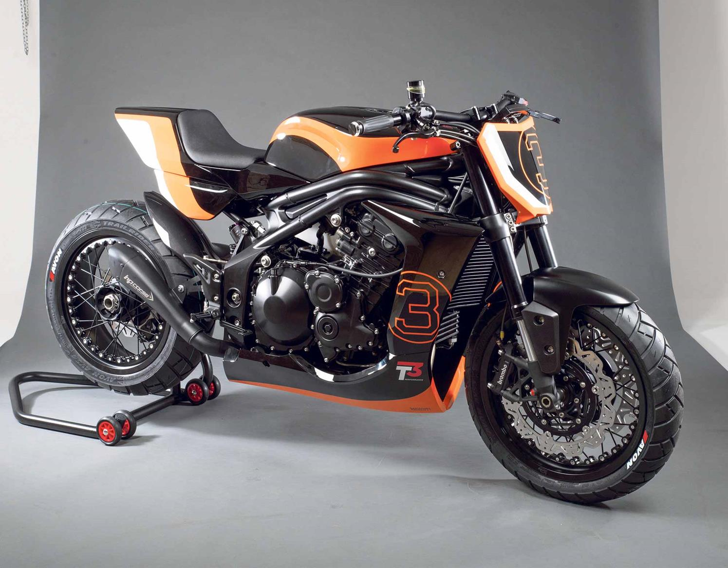 The Gemini Indianapolis is a flat track inspired machine