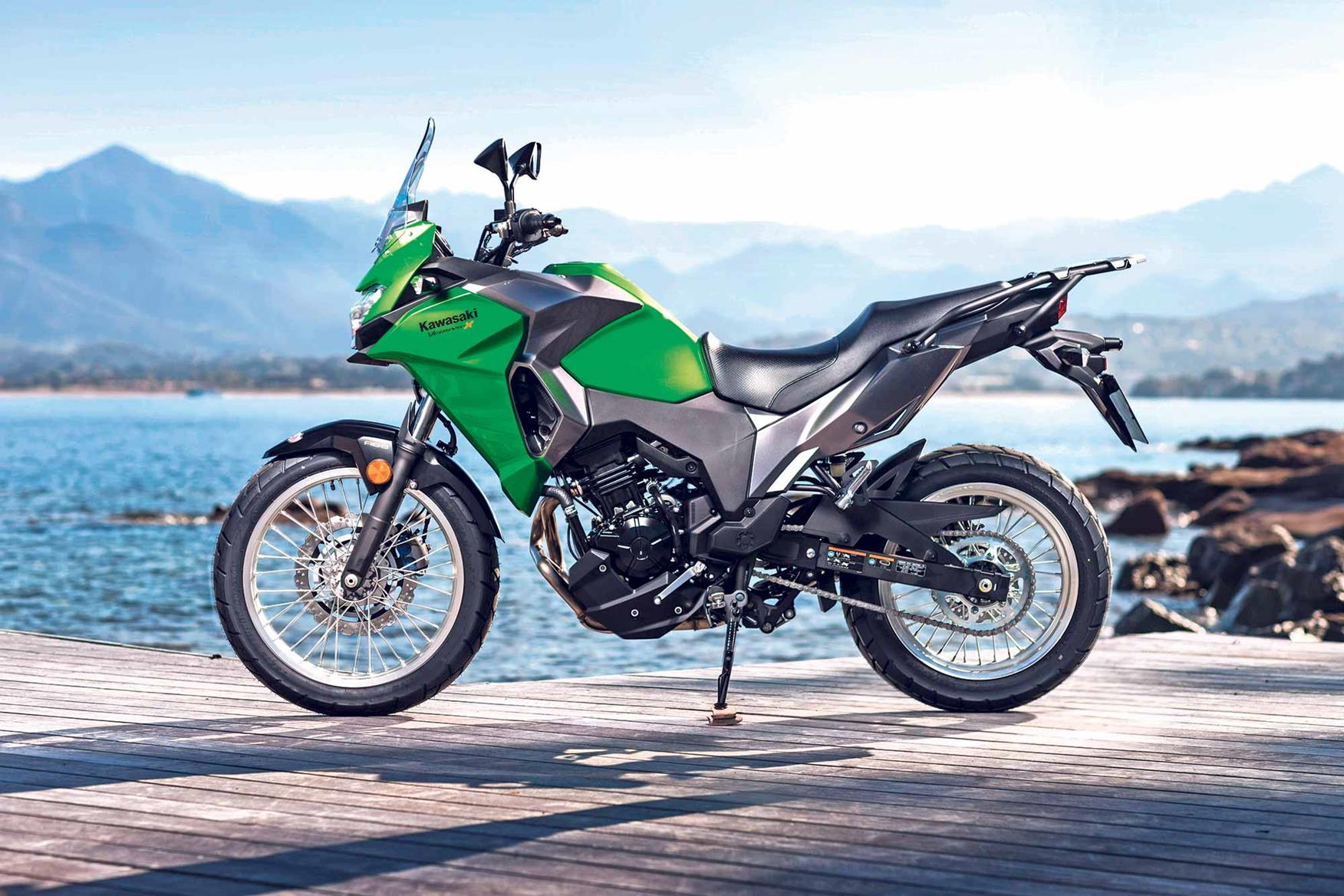 Static on the Kawasaki Versys-X 300