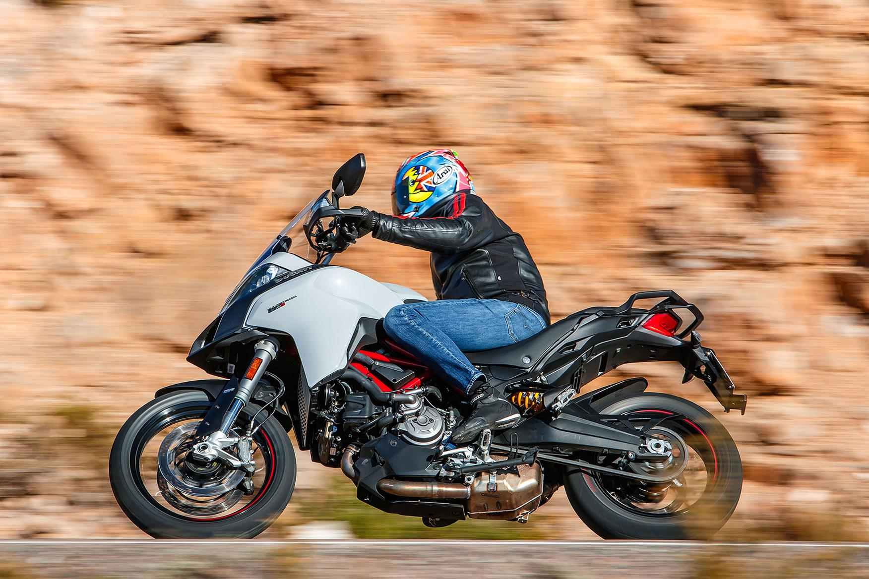 Ducati Multistrada 950 S left side