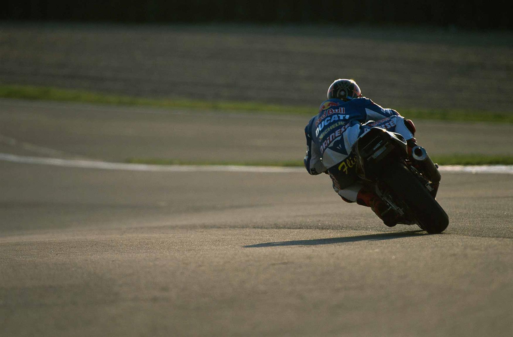 Flint was a keen track rider