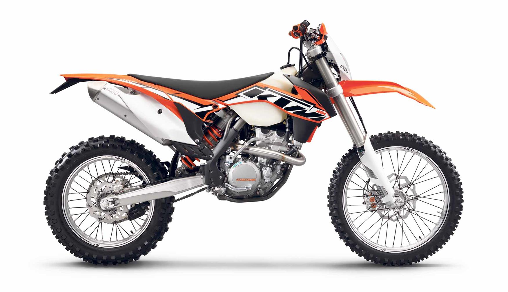Flint owned a KTM 350EXC