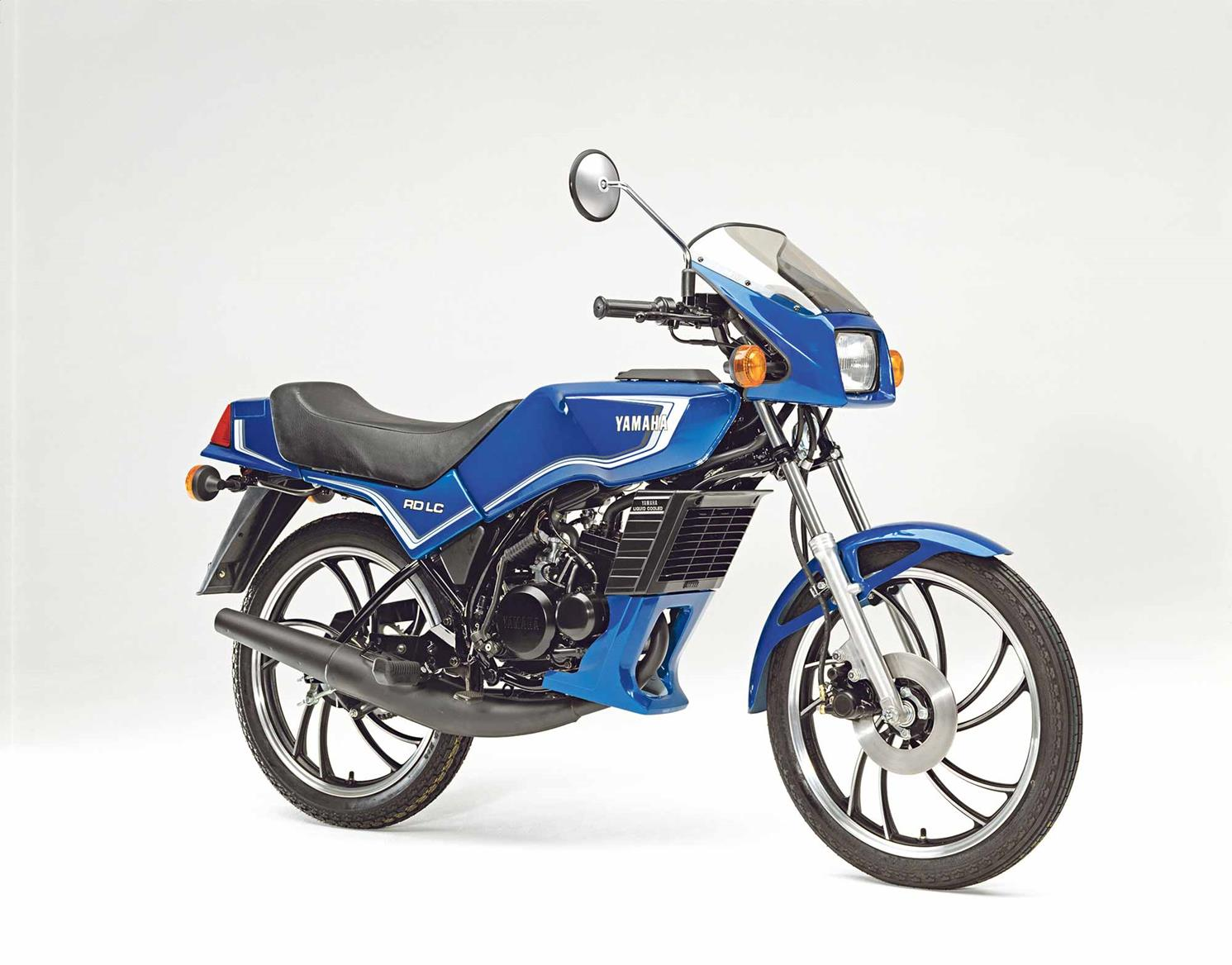 Flint had a succession of two-stroke Yamahas