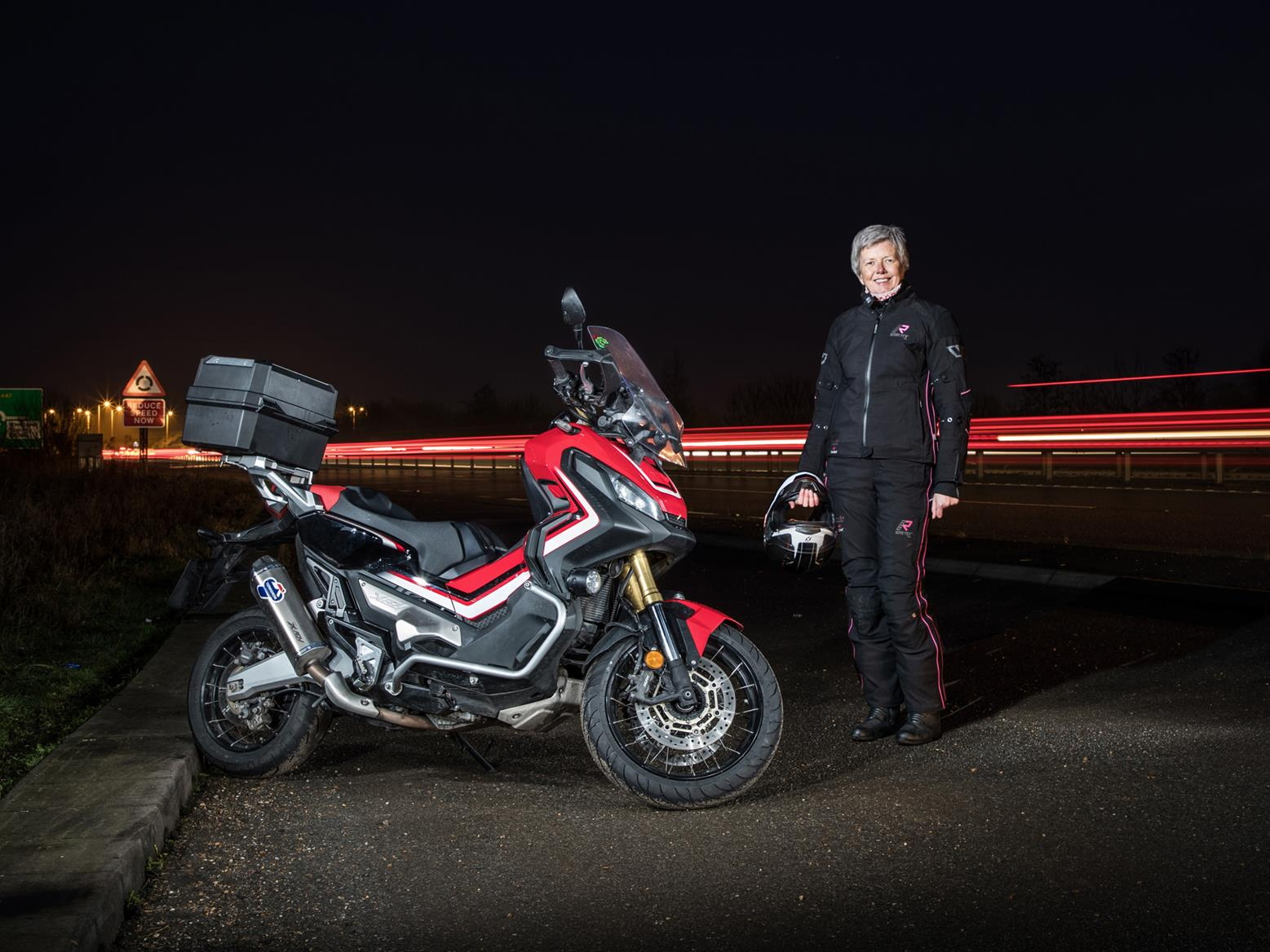High-vis detailing on your leathers could make the difference when riding in darkness