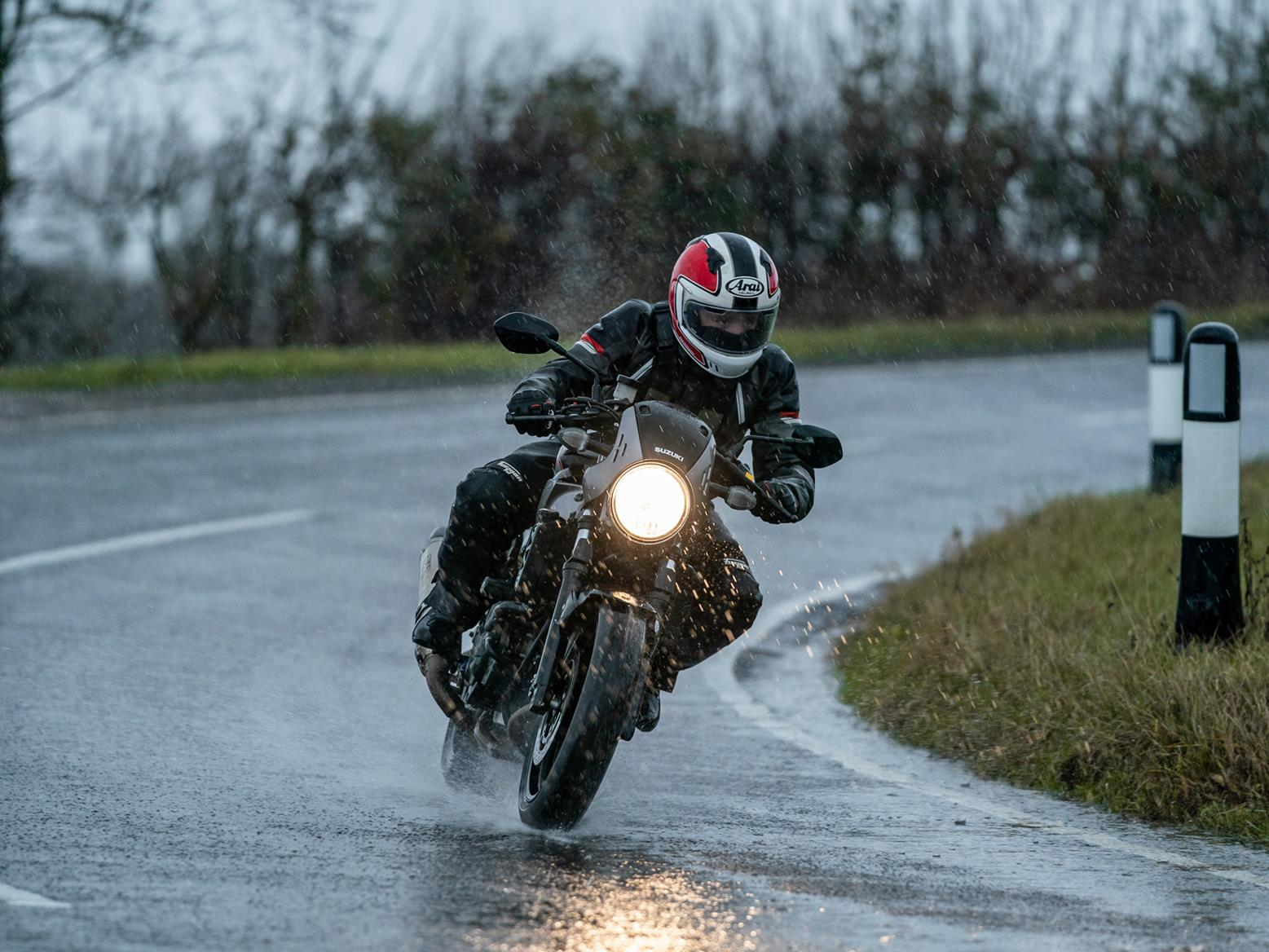 How to ride your motorbike in the rain