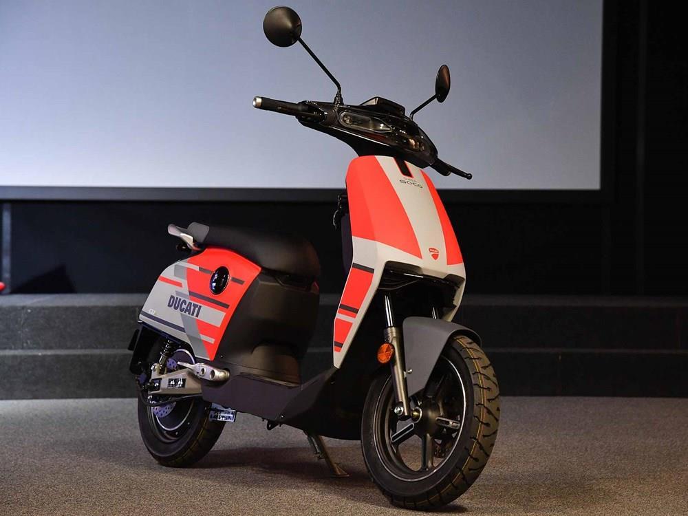 Quan hệ đối tác siêu Soco CUx Ducati