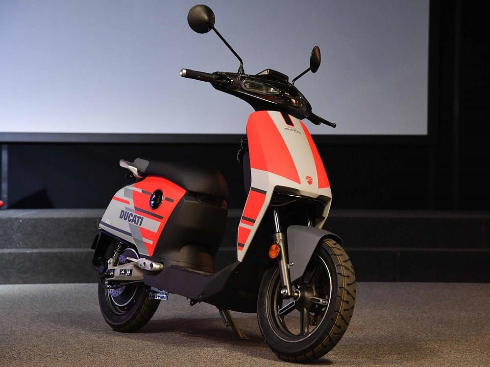 Super Soco CUx Ducati Partnership
