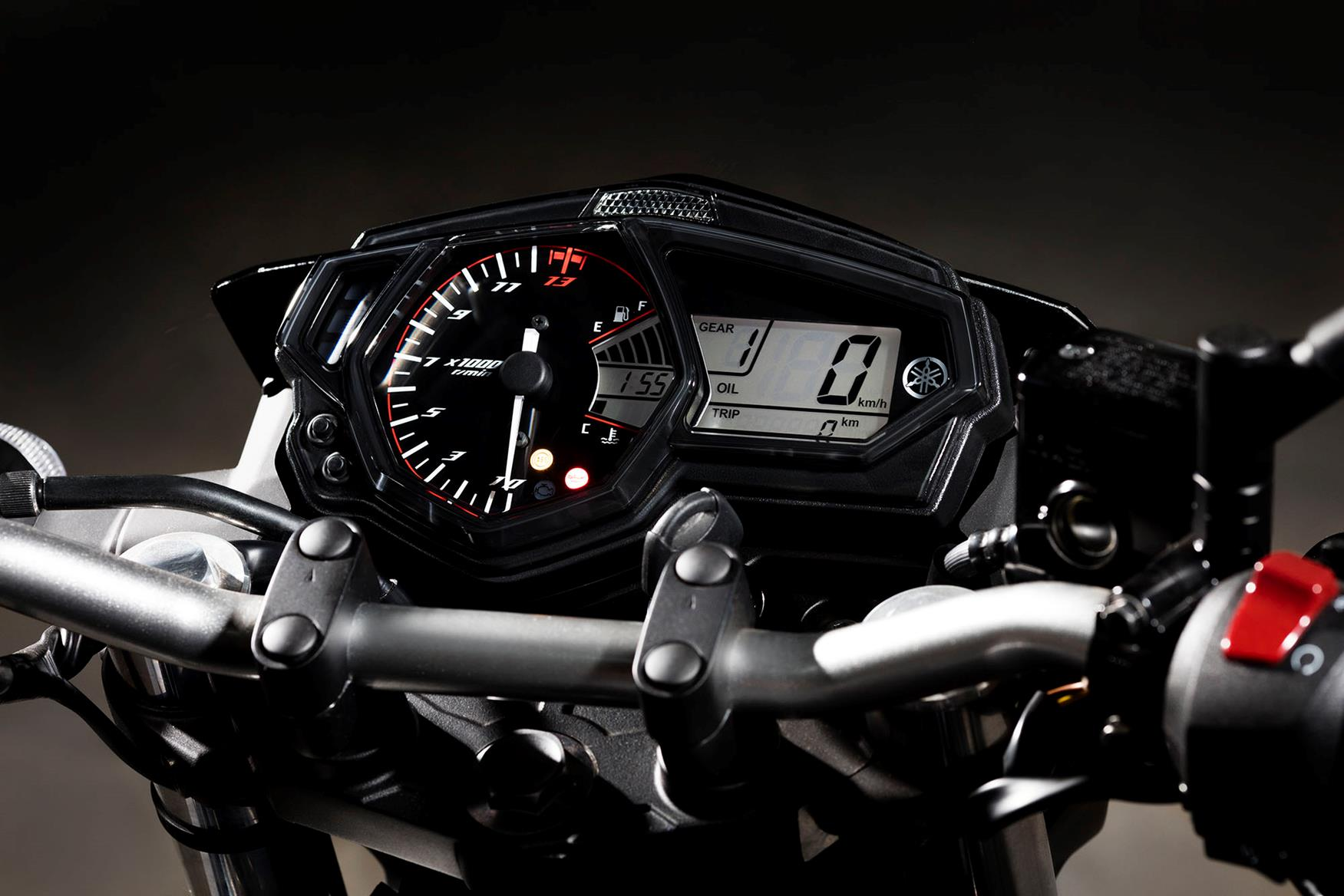 Yamaha MT-03 dash