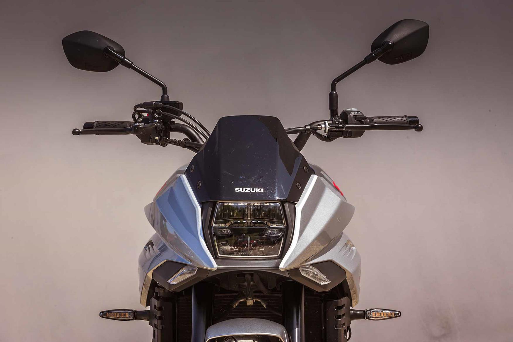 The Suzuki Katana front end