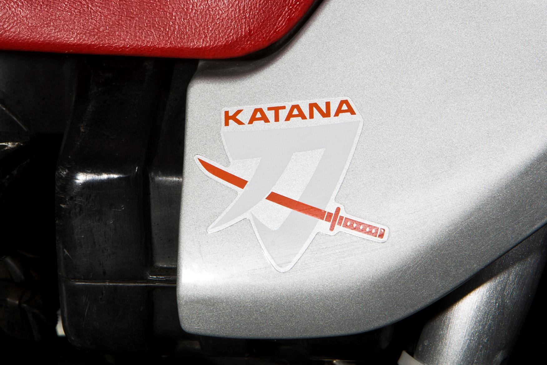 Suzuki GSX1100 Katana badge