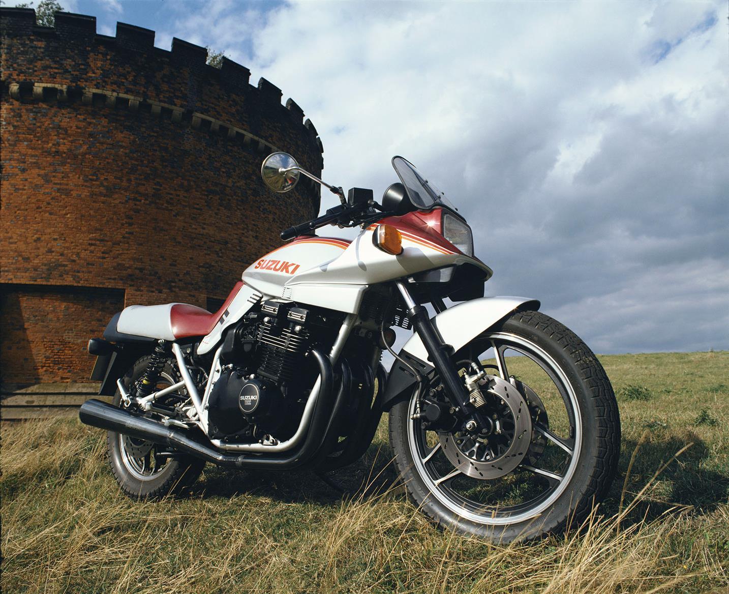 Suzuki GSX1100 Katana profile