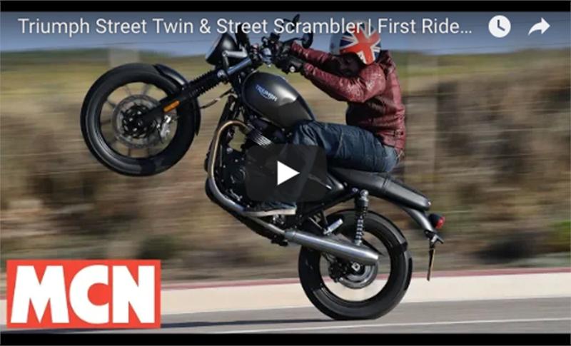 Triumph Street Twin video