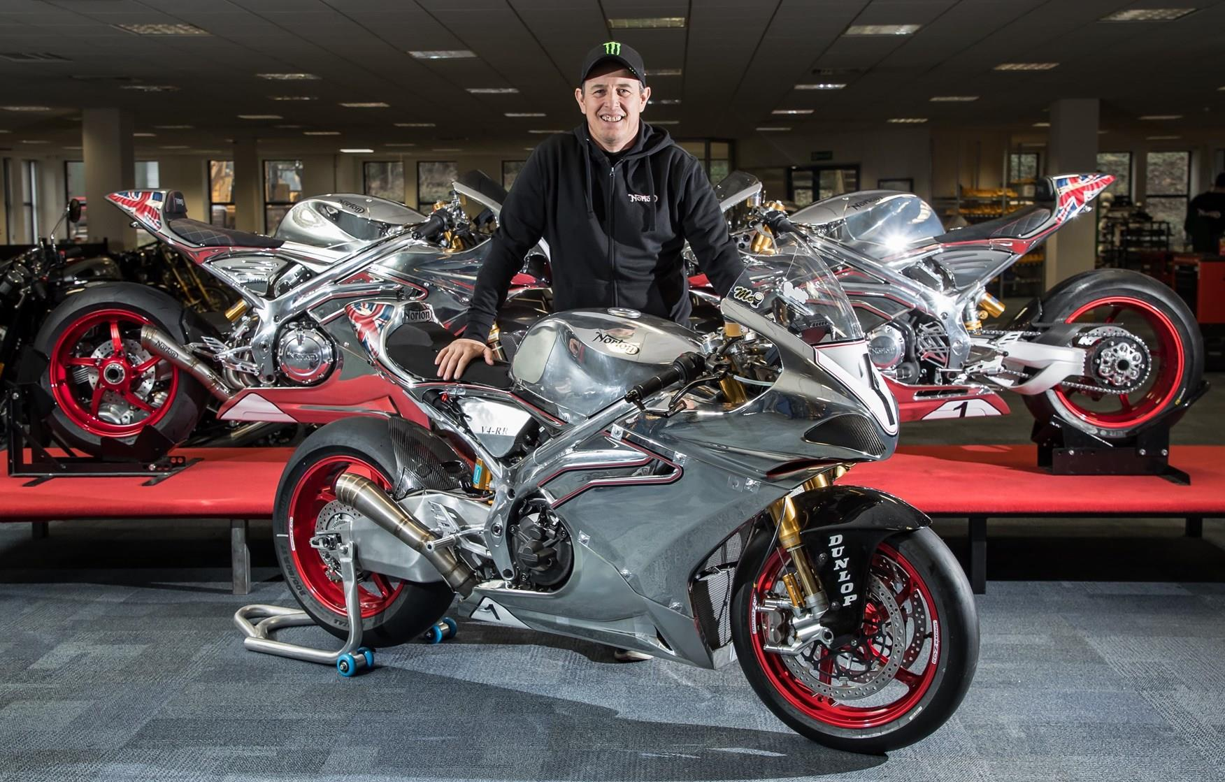 McGuinness with Nortons