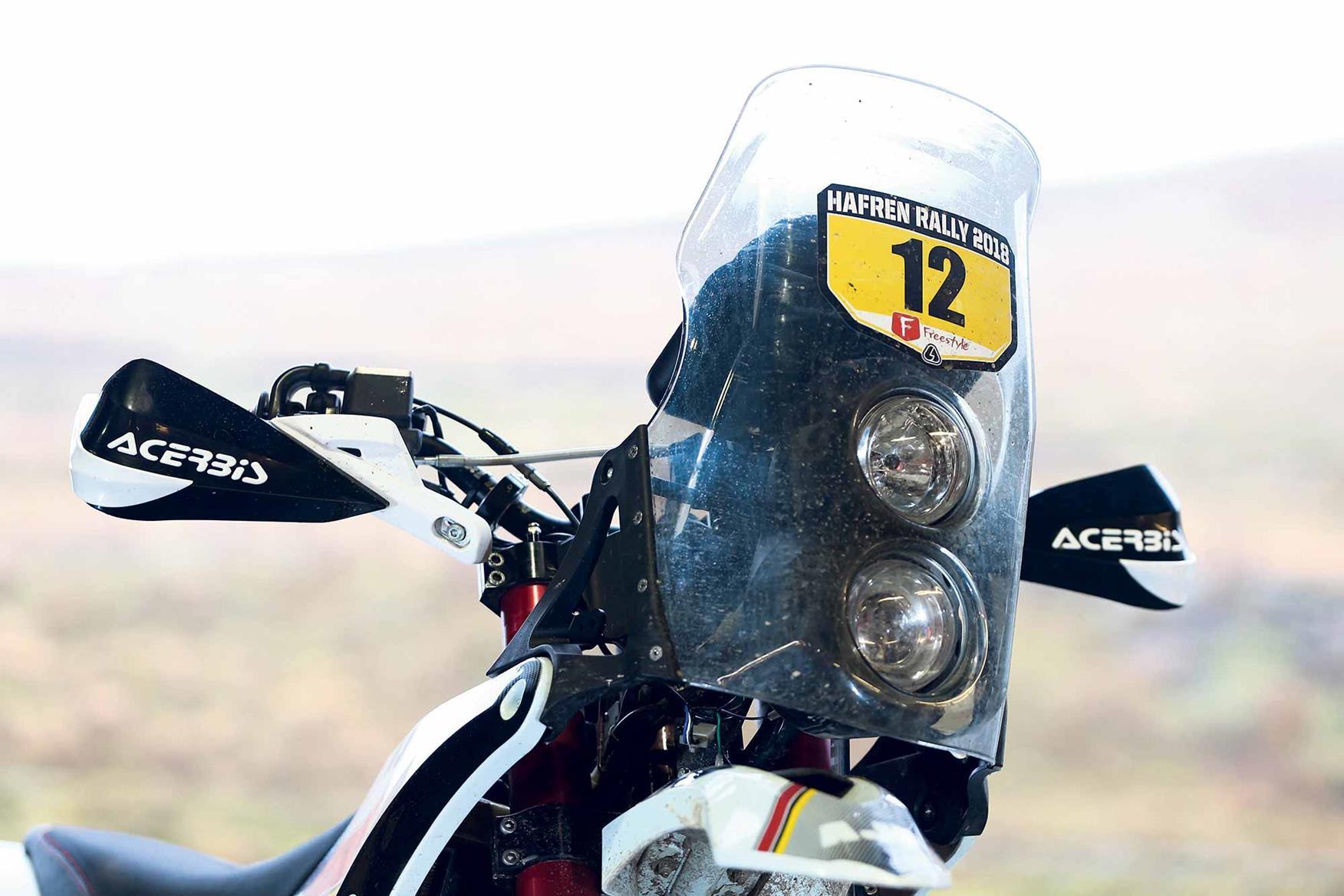 AJP PR7 front end