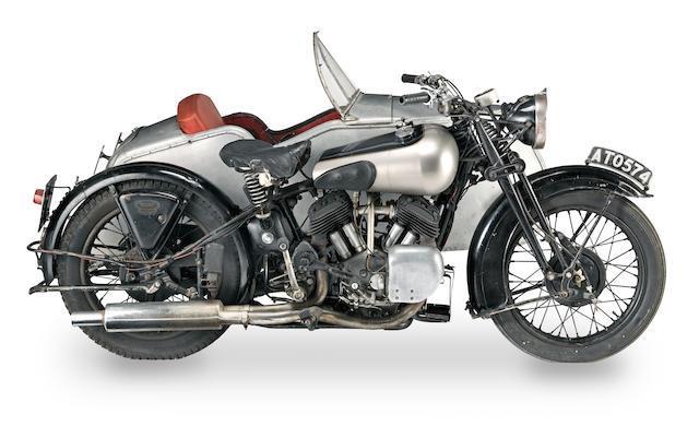 1924 Brough Superior SS80