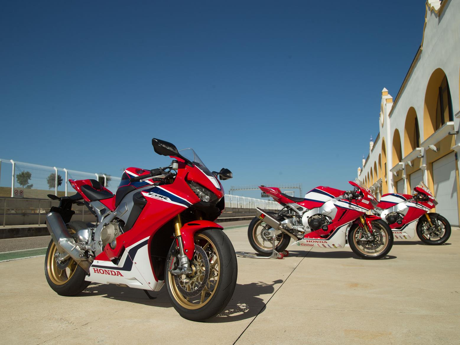 Reflecting on the Honda Fireblade and its journey from road to race