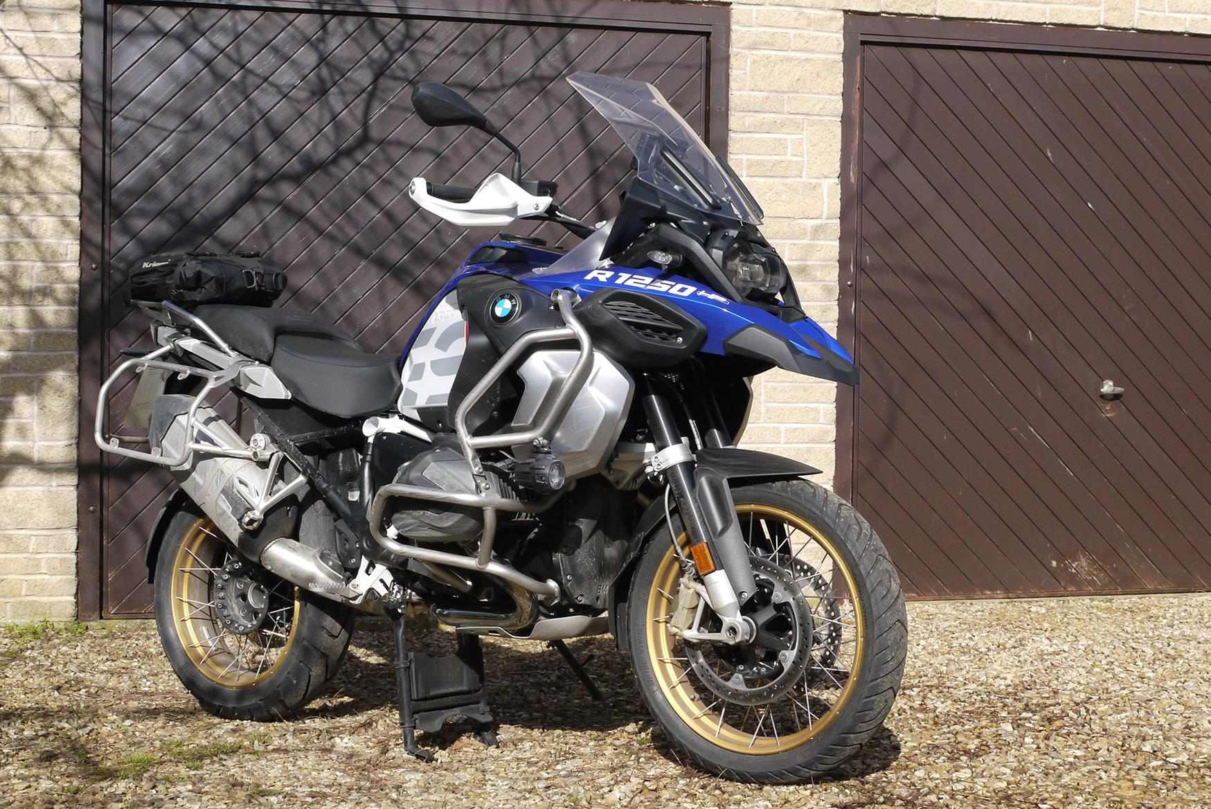 Prepping the BMW R1250GSA for adventure