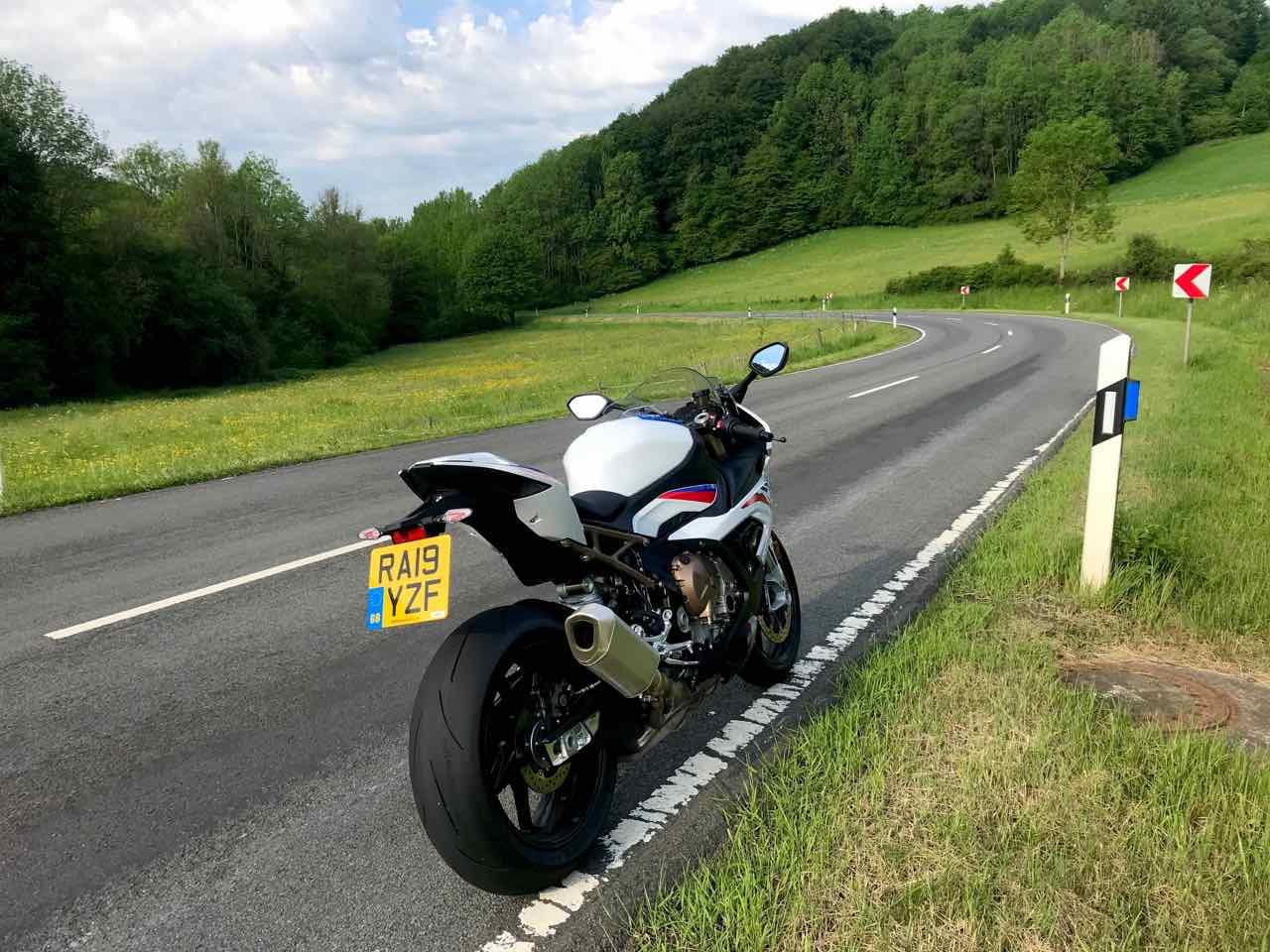 The BMW S1000RR in Germany