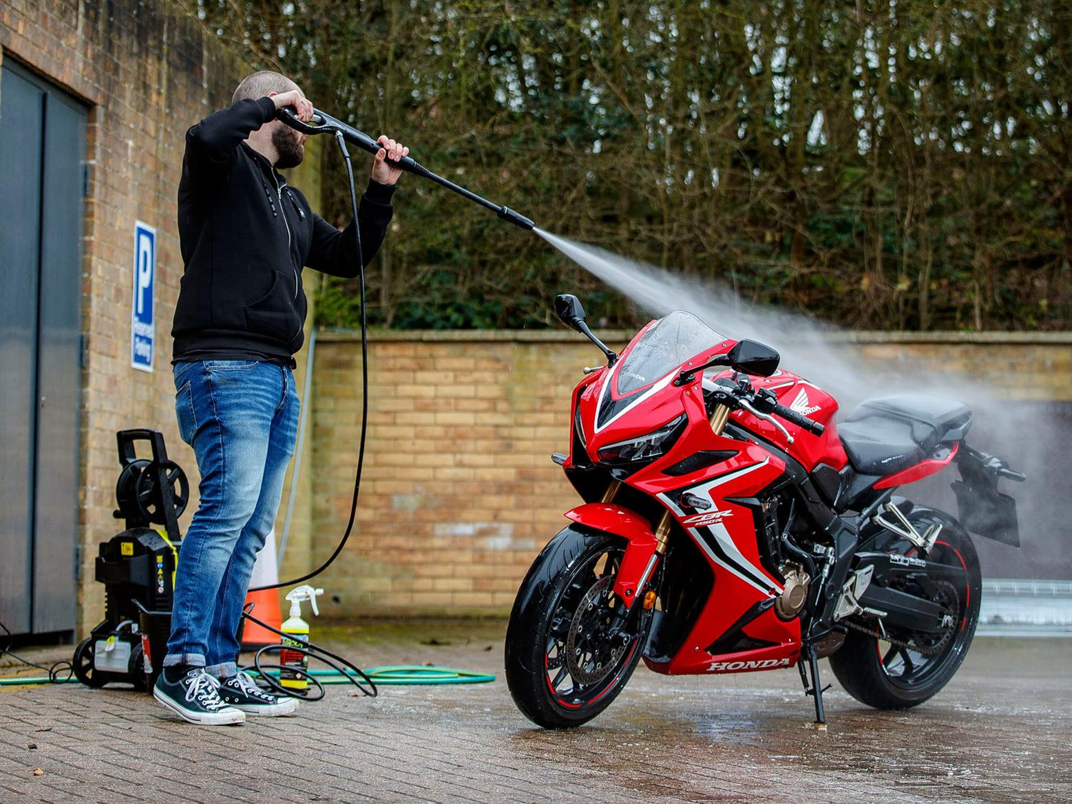 CBR650R jet wash