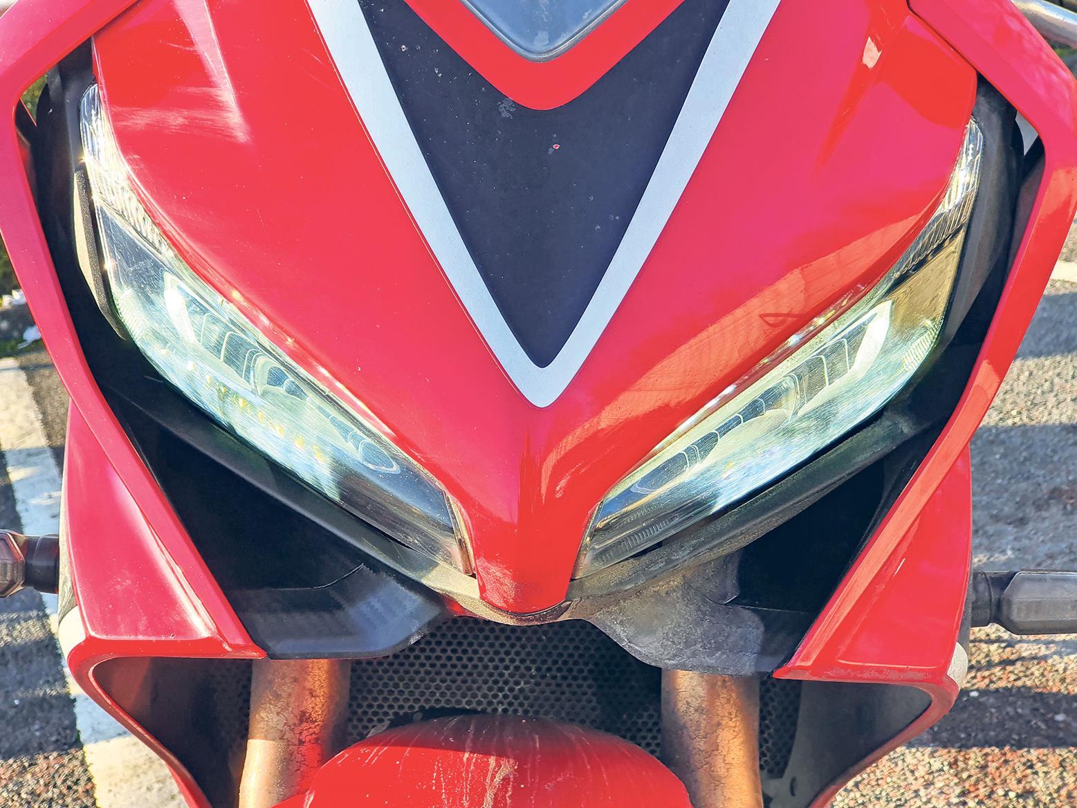 Honda CBR650R headlight